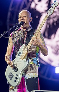 2016 Red Hot Chili Peppers - Michael Flea Balzary (cropped).jpg