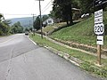 2017-07-21 11 20 37 View south along U.S. Route 220 Business (Verge Street) at A Street in Clifton Forge, Alleghany County, Virginia.jpg