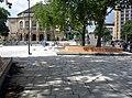 2017-07-28, Platz der Alten Synagoge in Freiburg, fertiggestellt aber noch nicht freigegeben.jpg