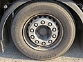 2017-09-08 (140) Continental HTR2 385-55 R 22,5 tires at Park and Ride at Bahnhof Wieselburg.jpg