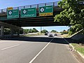 2018-07-19 09 53 36 View south along New Jersey State Route 17 at the exit for New Jersey State Route 3 WEST in Rutherford, Bergen County, New Jersey.jpg
