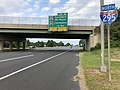 2018-08-26 17 33 23 View north along Interstate 295 and U.S. Route 130 just north of Exit 17 in Greenwich Township, Gloucester County, New Jersey.jpg