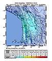 2018-11-01 Iquique, Chile M6.2 earthquake shakemap (USGS).jpg