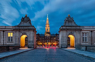 Christiansborg Palace Palace in Copenhagen, seat of the Danish Parliament