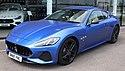2018 Maserati GranTurismo Sport Automatic 4.7 Front.jpg