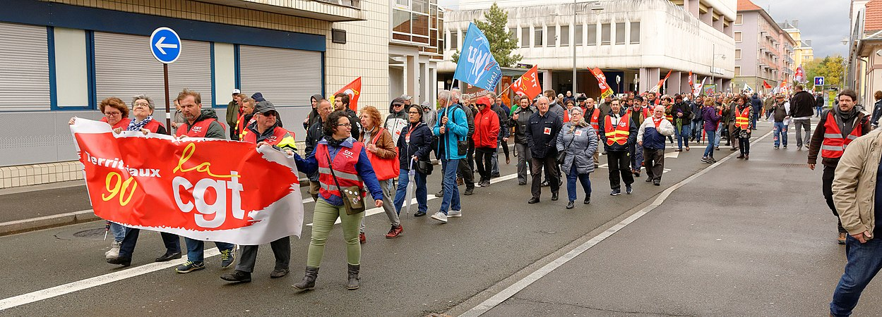 Manifestation 15 Mars 2019 Wikipedia: Manifestation, Belfort, 09 May 2019