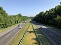 2019-07-25 09 30 45 View north along Interstate 97 (Patuxent Freeway) from the overpass for Farm Road in Crownsville, Anne Arundel County, Maryland.jpg