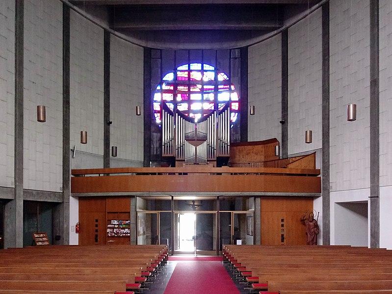 Datei:20190616 Severinkirche Linz Orgelempore.jpg