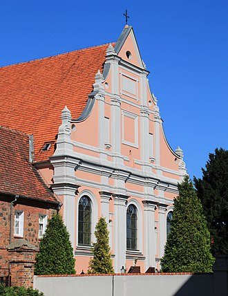 Śrem - Old Franciscan baroque church