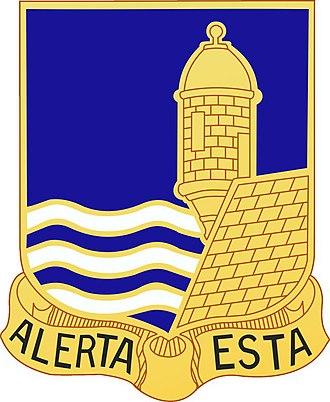 296th Infantry Regiment - Image: 296th infantry regiment distinctive unit insignia