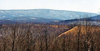 Wills Mountain - Wills Mountain in Pennsylvania