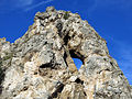 306 La roca Foradada, al poble de Foradada.JPG