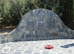 No. 33 Squadron RAF - Memorial to members of 30 and 33 Squadrons RAF killed in battle of Crete