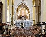31 - Bessières - Eglise Saint Jean-Baptiste - Le choeur et l'autel neo-gothique.jpg
