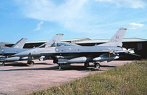 31st Fighter Wing - 31st FW General Dynamics F-16DG Block 40D Fighting Falcon Serial 90-0795