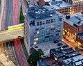 360 Newbury Street viewed from Prudential Tower, July 2015.jpg