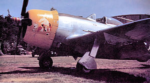 394th Fighter Squadron - 394th Fighter Squadron P-47D Thunderbolt