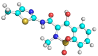 3D ball and stick structure of meloxicam.png