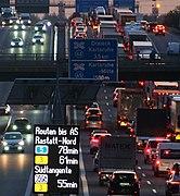Verkehrsnachrichten A5