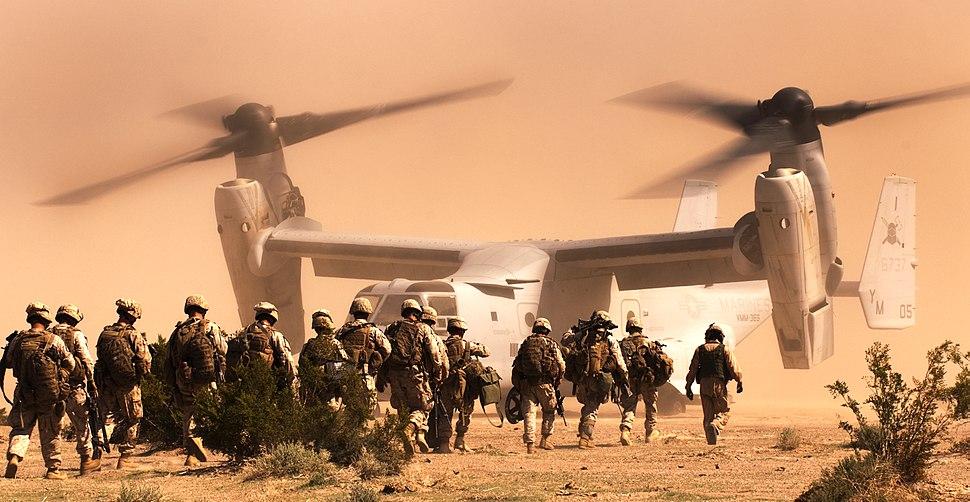 3rd Battalion 3rd Marines Osprey flights