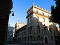410 Palau de la Generalitat (València), torre nova, plaça de Manises.jpg