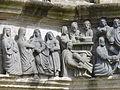4358.Links-La Visitation-Besuch-Elisabeth begrüßt mit einer freundschaftlichen Geste Maria und Maria reicht-Rechts-Le Lavement des pieds-Fußwaschung Jesus wäscht Petrus und seinen Jüngern die Füße.JPG