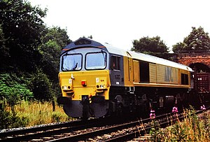 Mendip Rail - ARC 59104 Village of Great Elm in original livery