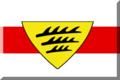 600px Bianco Con Striscia Rossa e scudo giallo.png