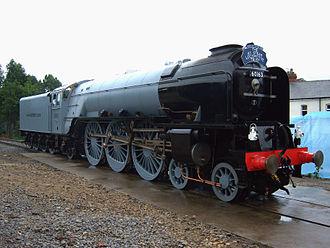 2008 in rail transport - Tornado, August 2008