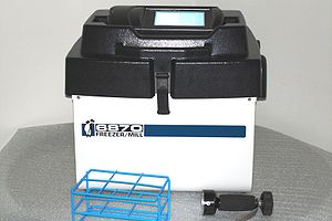 Cryogenic grinding - An Example of a solenoid powered cryogenic grinder