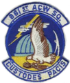 861st Radar Squadron - Emblem.png