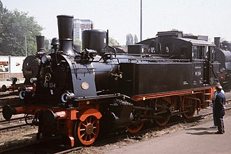 Elsässische Maschinenbau-Gesellschaft Grafenstaden - A Prussian T 9 built in 1898 with works number 4843 (later DRG 91 134)