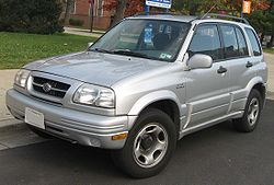 Suzuki Grand Vitara Funfturer 1998 2001