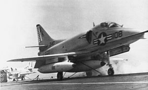 A-4B VSF-3 launching from USS Intrepid (CVS-11) 1967.jpg
