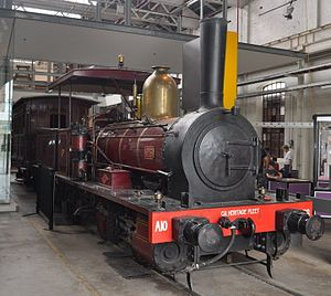 Queensland A10 Neilson class locomotive - N°6 at the Workshops Rail Museum in 2011