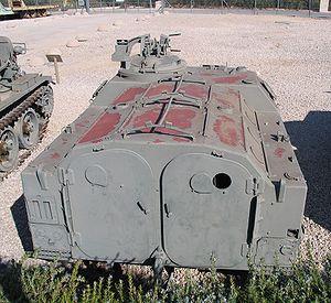 AMX-VCI - Rear view of an AMX-13 VTT