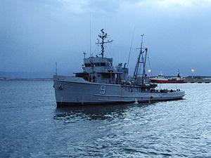 USS Salish (ATA-187) - Image: ARA Alférez Sobral (A 9)