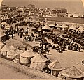 A Persian camp of pilgrims to Jaffa. 1900. ppmsca.10705.left.jpg