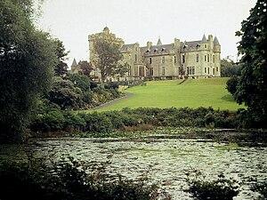 Glenapp Castle - Glenapp Castle, north-west facade