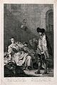 A drunken husband lies sleeping as his young wife plots furt Wellcome V0019583.jpg