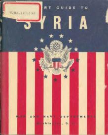 A short guide to Syria (1943).djvu