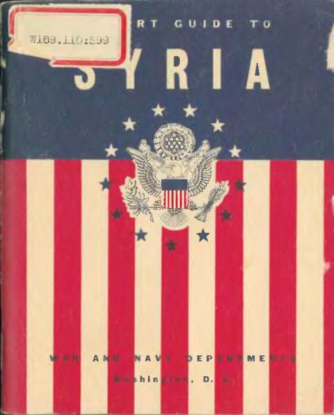 File:A short guide to Syria (1943).djvu
