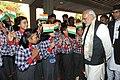 A welcome for the Prime Minister, Shri Narendra Modi, at Kathmandu, in Nepal on November 25, 2014 (1).jpg