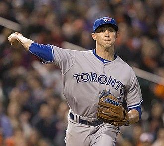 Aaron Sanchez (baseball) - Sanchez with the Toronto Blue Jays in 2015