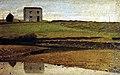Abbati, Giuseppe - House at the River (1863).jpg