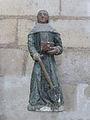 Abbaye Saint-Germain d'Auxerre-Statue de Saint Fiacre.jpg