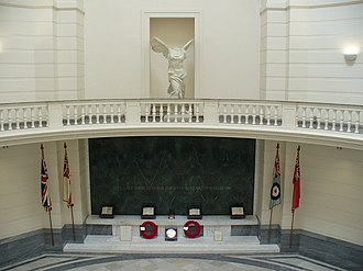Aberdeen Art Gallery - Books of remembrance in the Memorial Court