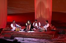 Parveen At Her Concert In Oslo 2007