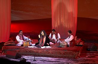 Abida Parveen - Parveen at her concert in Oslo, 2007