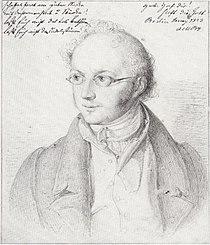 Abraham Mendelssohn Bartholdy - Zeichnung von Wilhelm Hensel 1823.jpg